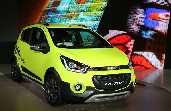 Chevrolet Beat Activ Concept Showcased At 2016 Los Angeles Auto
