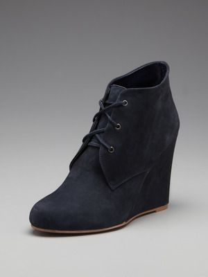 can't believe I missed these on Gilt...  Candela Wedge Bootie