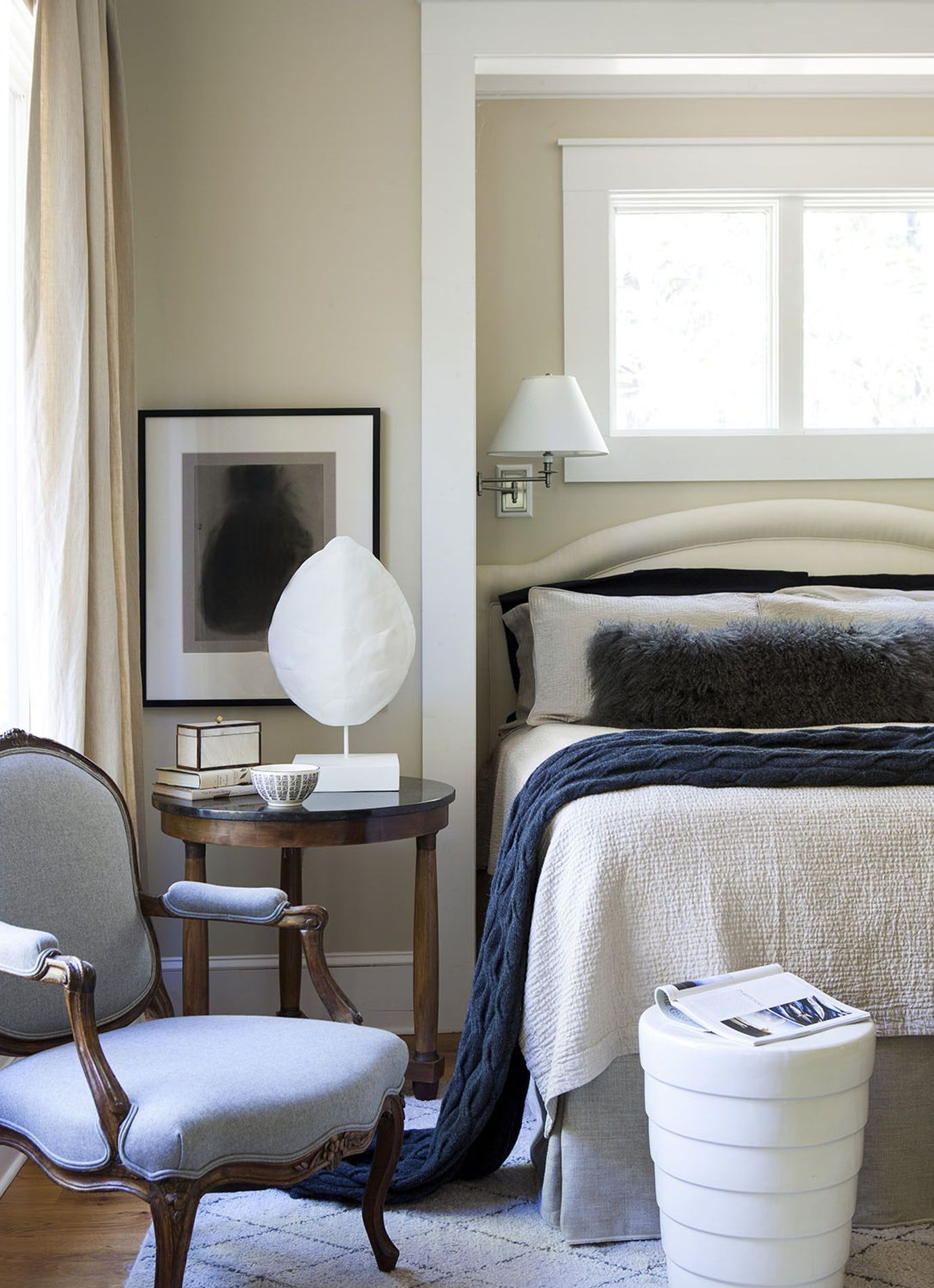 Lake House Bedroom Rustic French Country