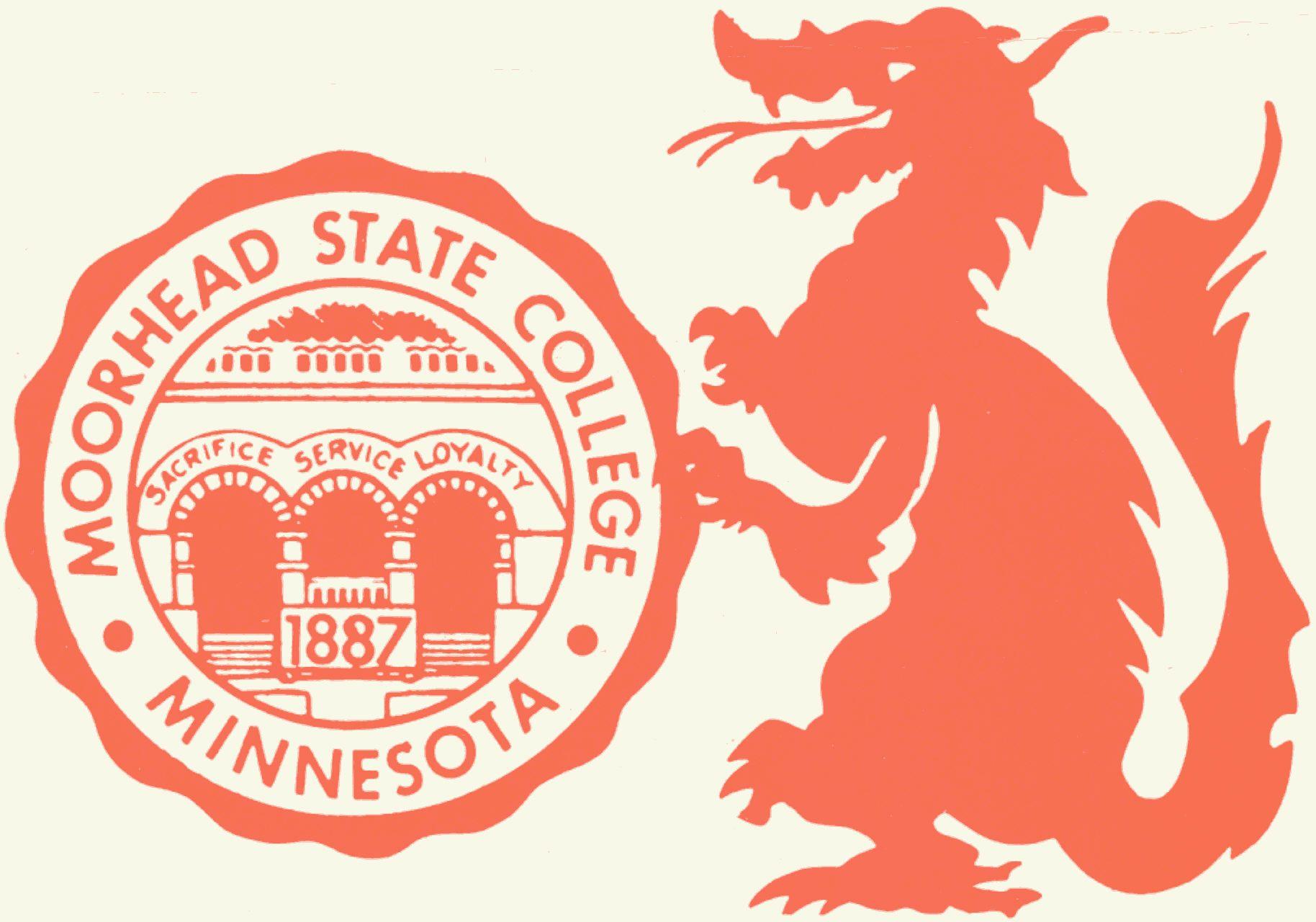 Moorhead state dragon logo dragon logo moorhead - Interior design classes minneapolis ...