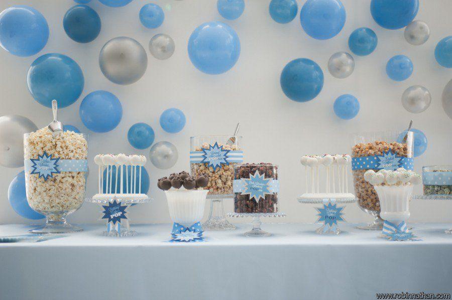Pop party wendi 39 s pop baby shower pinterest deco anniversaire r ceptions et anniversaires - Deco anniversaire bebe garcon ...