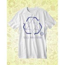 Camisa AMA TERRA Branca Recicle - ATA066