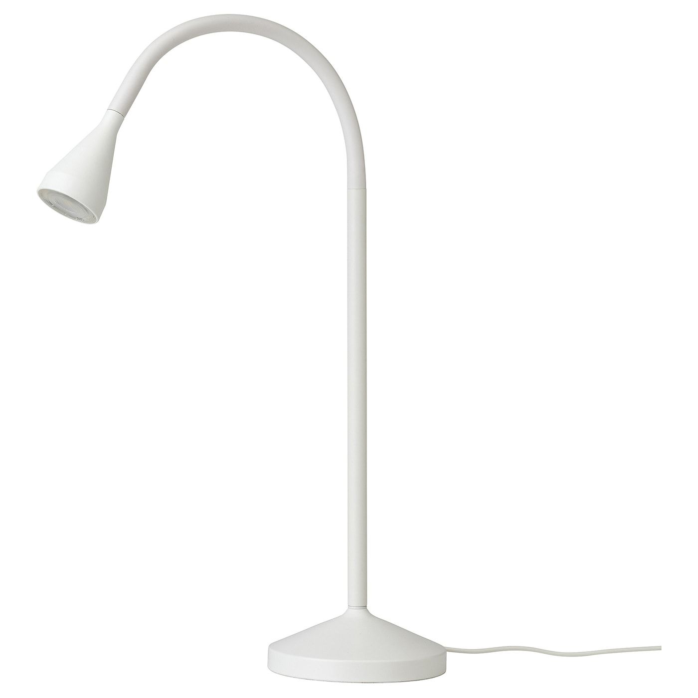 Navlinge Led Work Lamp White Ikea In 2020 Lamp Work Lamp Ikea
