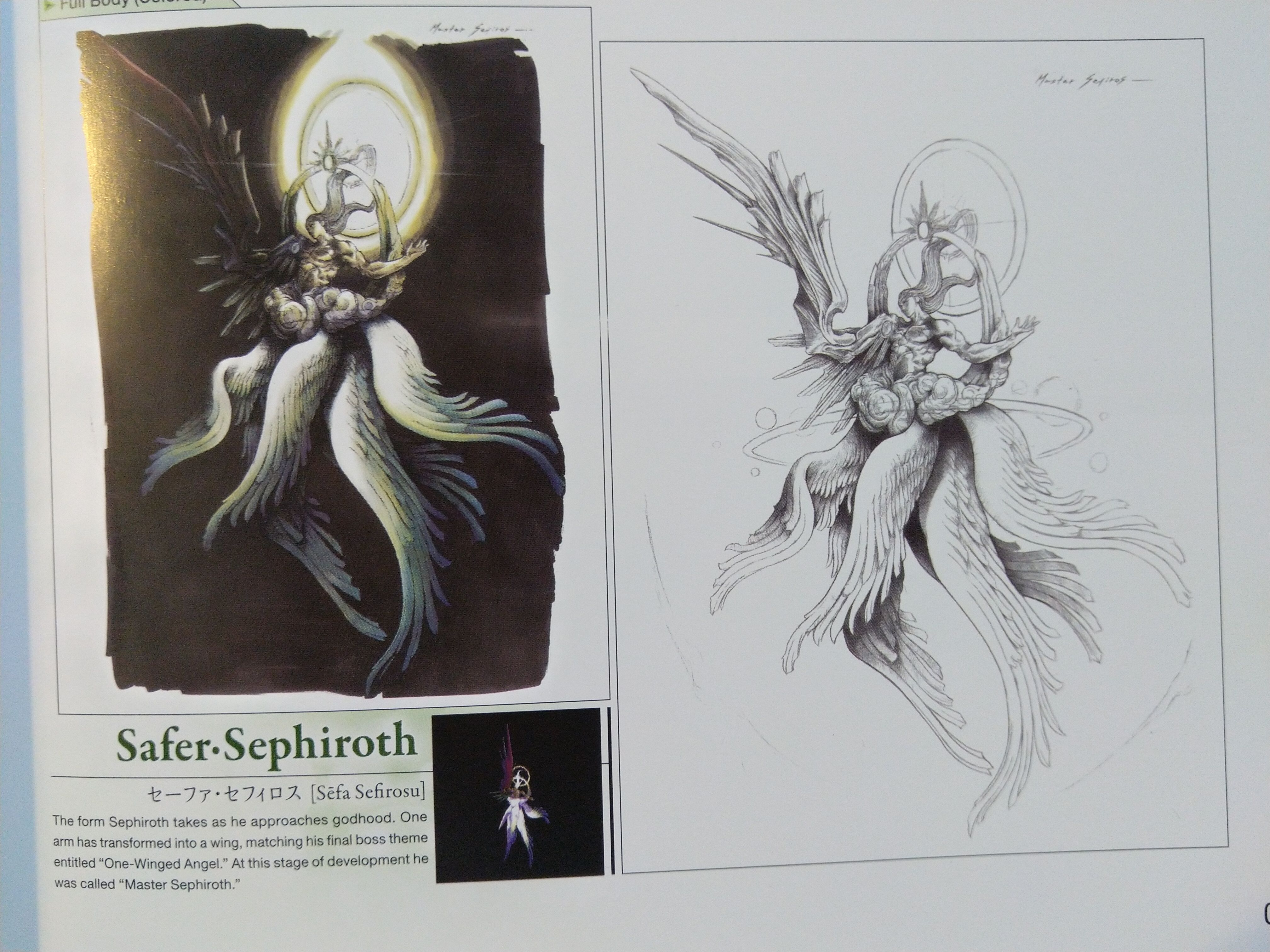 Safer Sephiroth Https Www Gamestarter Co Uk Final