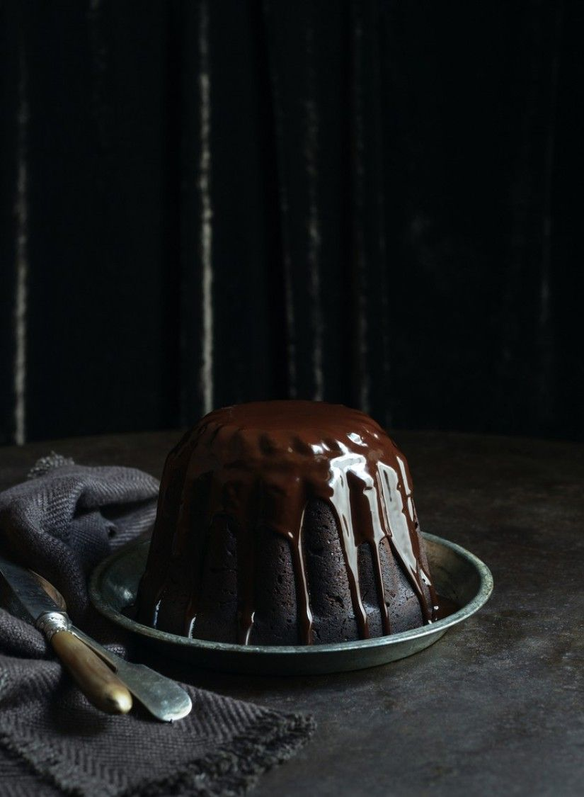 Steamed Chocolate Pudding   Dish