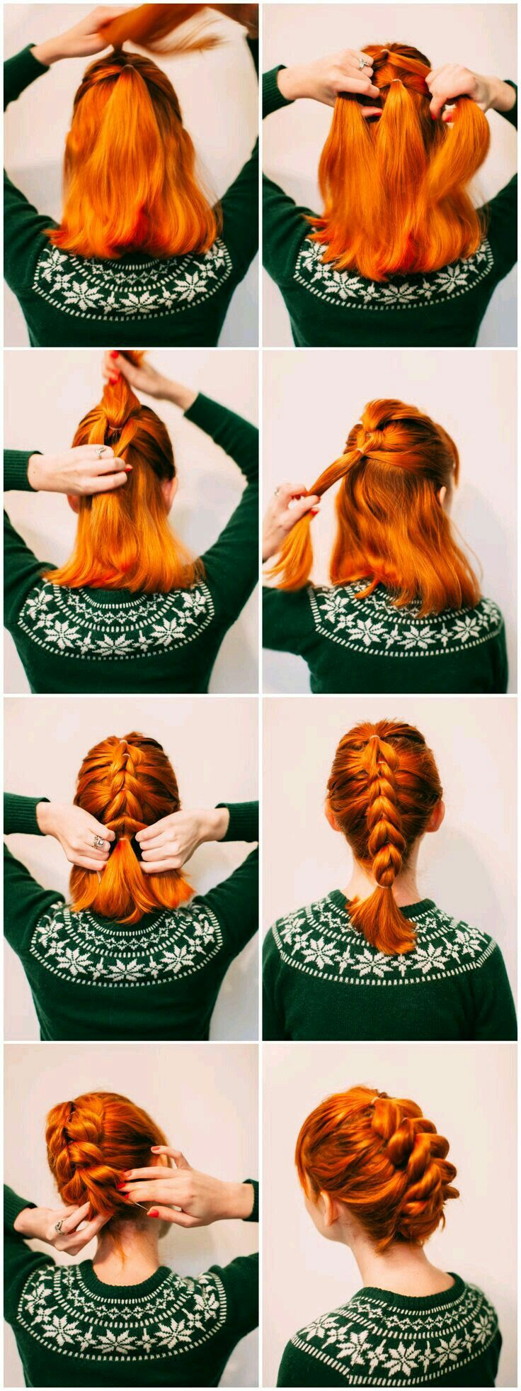 Ooohhhhh red hair braids pinterest red hair hair style and