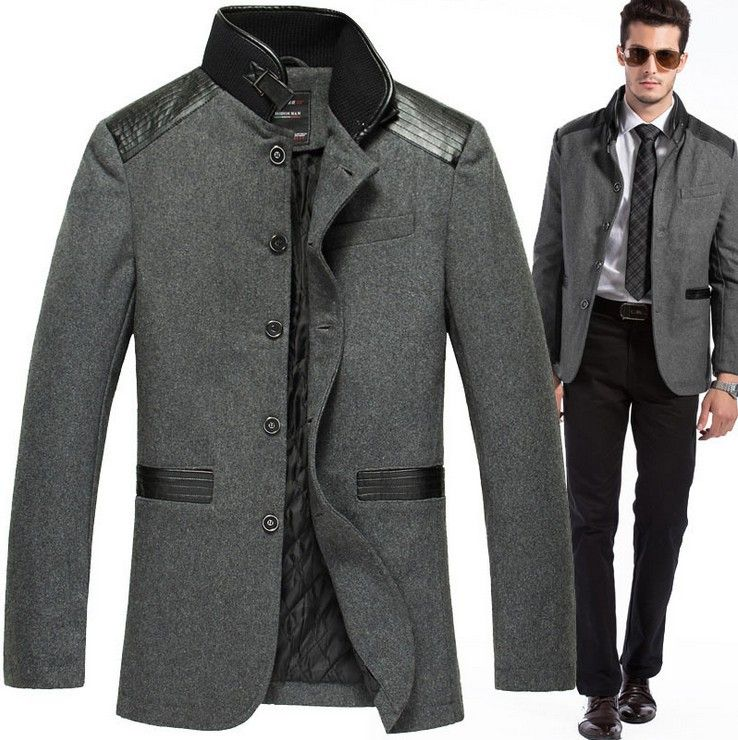 2014-New-Style-Men-Leisure-Suit-Fashion-Jacket-Brand-Coats-casual ...