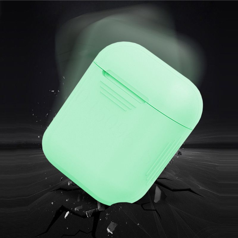Protective Silicone Glow Airpods Case By Lucid Cases Protective Cases Airpod Case Apple Phone Case