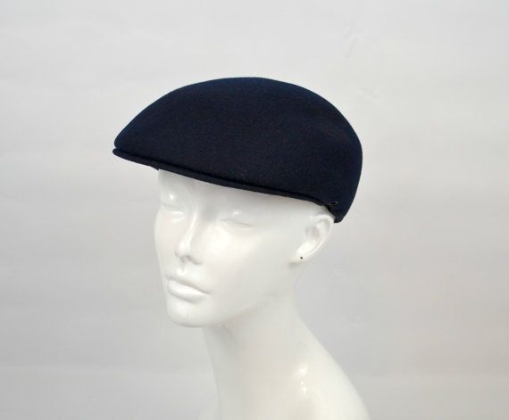 f7d798109 1980s Navy Blue London Fog Newsboy/Ascot Mens Hat | ETSY, EBAY ...