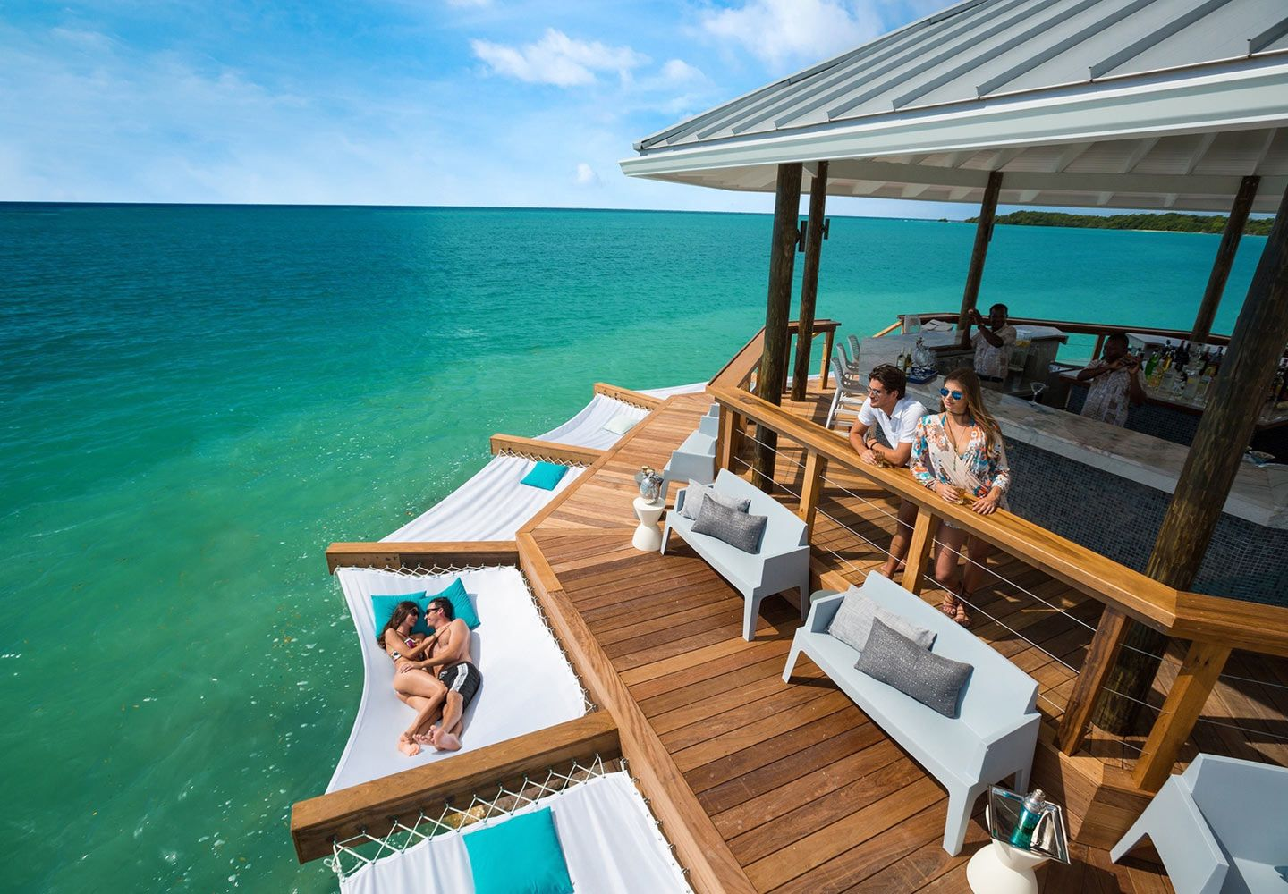 8ae0757ef The all new Latitudes over-the-water bar gets you closer to the sea than  ever before