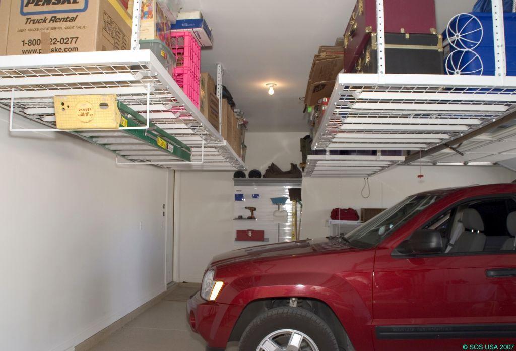 Garage Ceiling Storage Onwallsolutions How Do People