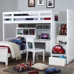 Willow Childrens High Sleeper Bed Designed Exclusive For The Furniture Company Our