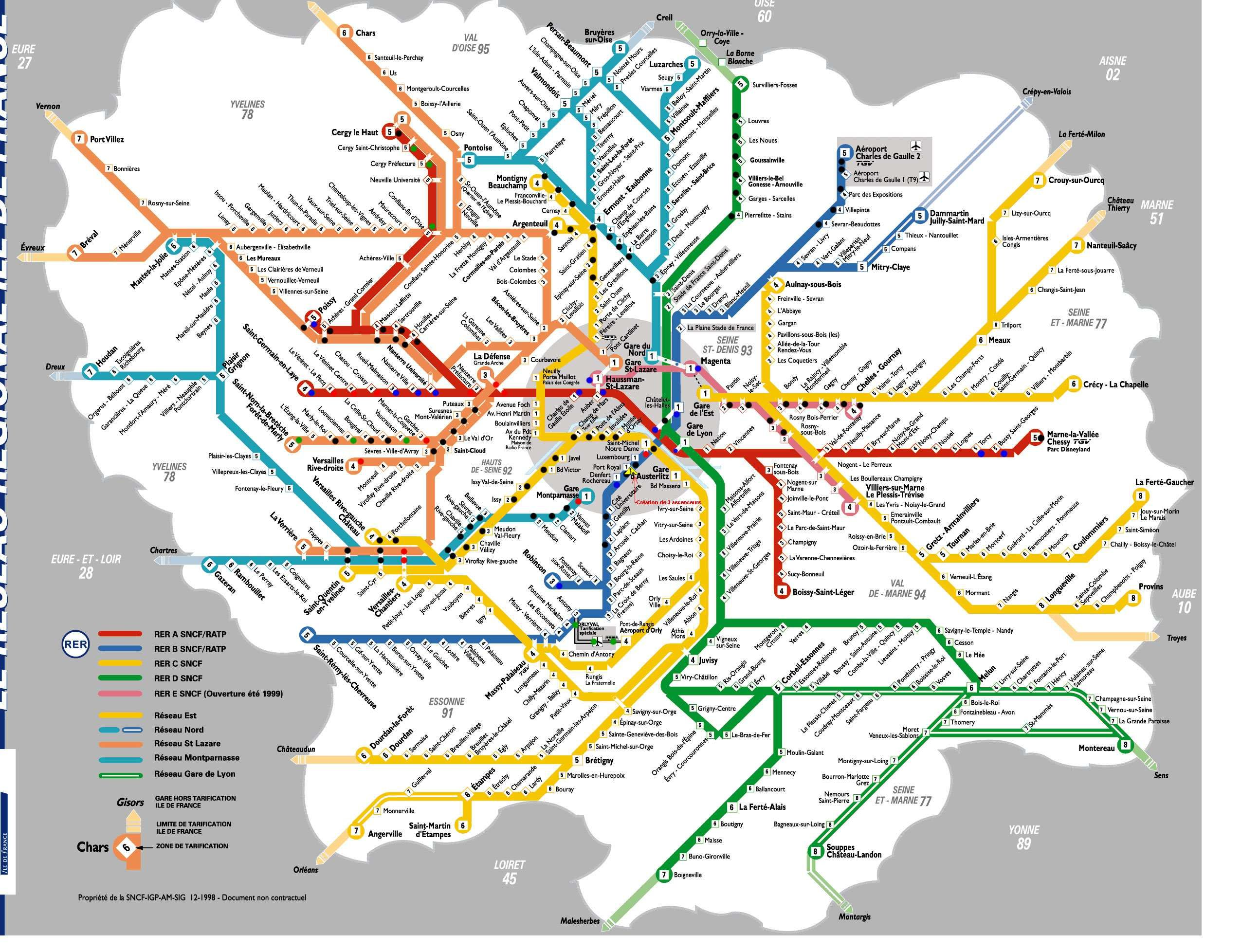 Noisy Le Grand Rer A Paris In 2019 Paris Map Paris Metro Paris