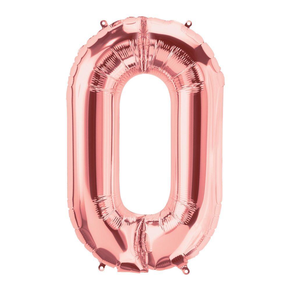 Rose Gold 34/'/' SuperShape Letter Foil Balloons