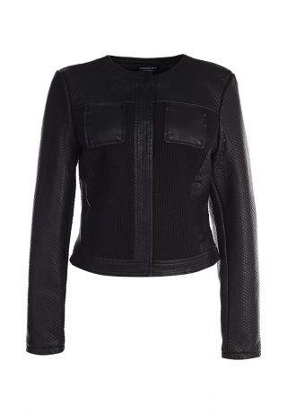 Куртка кожаная Morgan, цвет  черный. Артикул  MO012EWFKZ53 Clothes, Outfits,  Clothing ba8f6635bdd