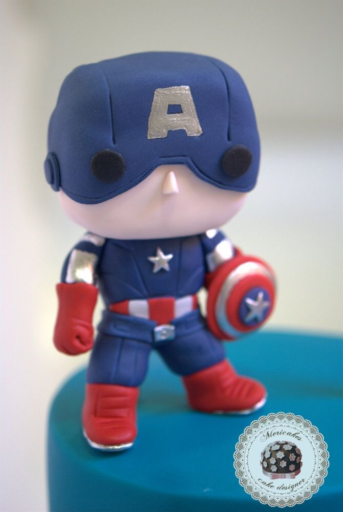 tarta marvel avengers comic hulk spiderman capit225n