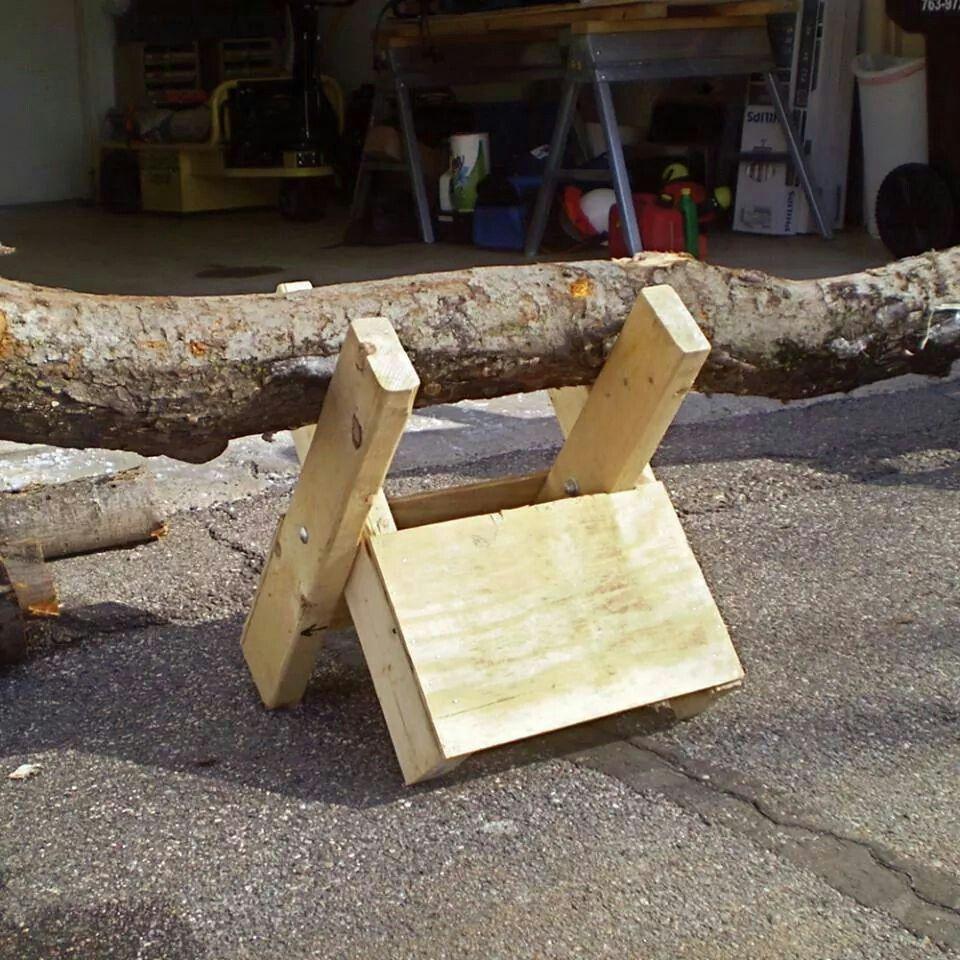 Saw Buck Firewood Wood Diy