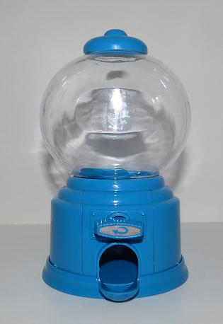 Baleiro Azul Ref: TBAL02 Dimensões (cm):  Cor: azul Qtde disponível: 1 Valor por peça: R$ 5,00