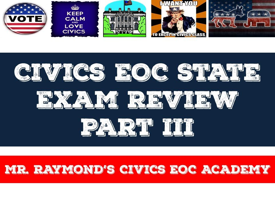 YouTube video to help kids prep for the Civics EOC State ...