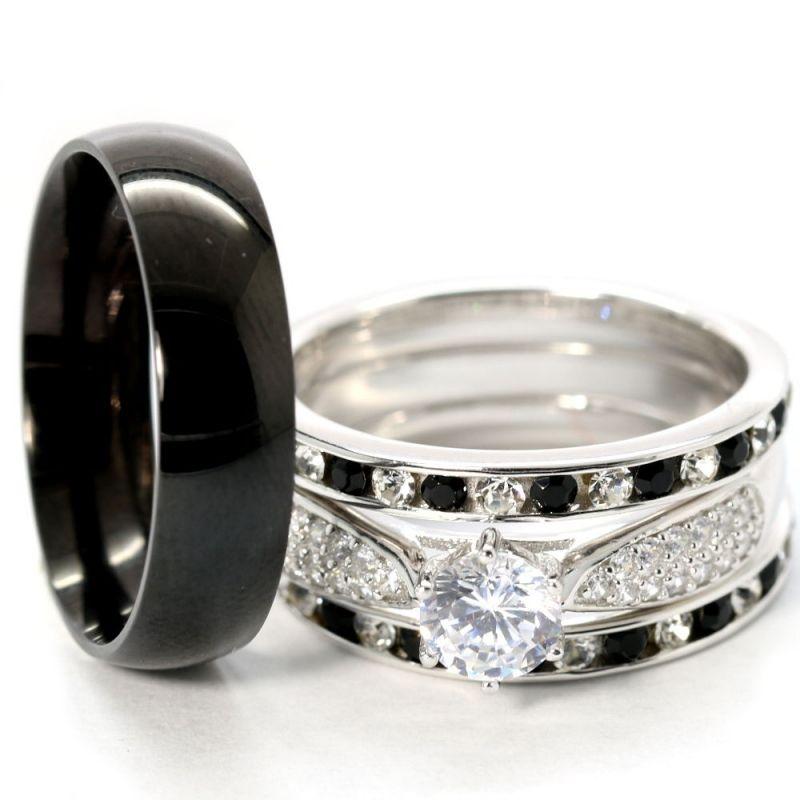 Cheap Wedding sets KingsWayJewelry rings Pinterest