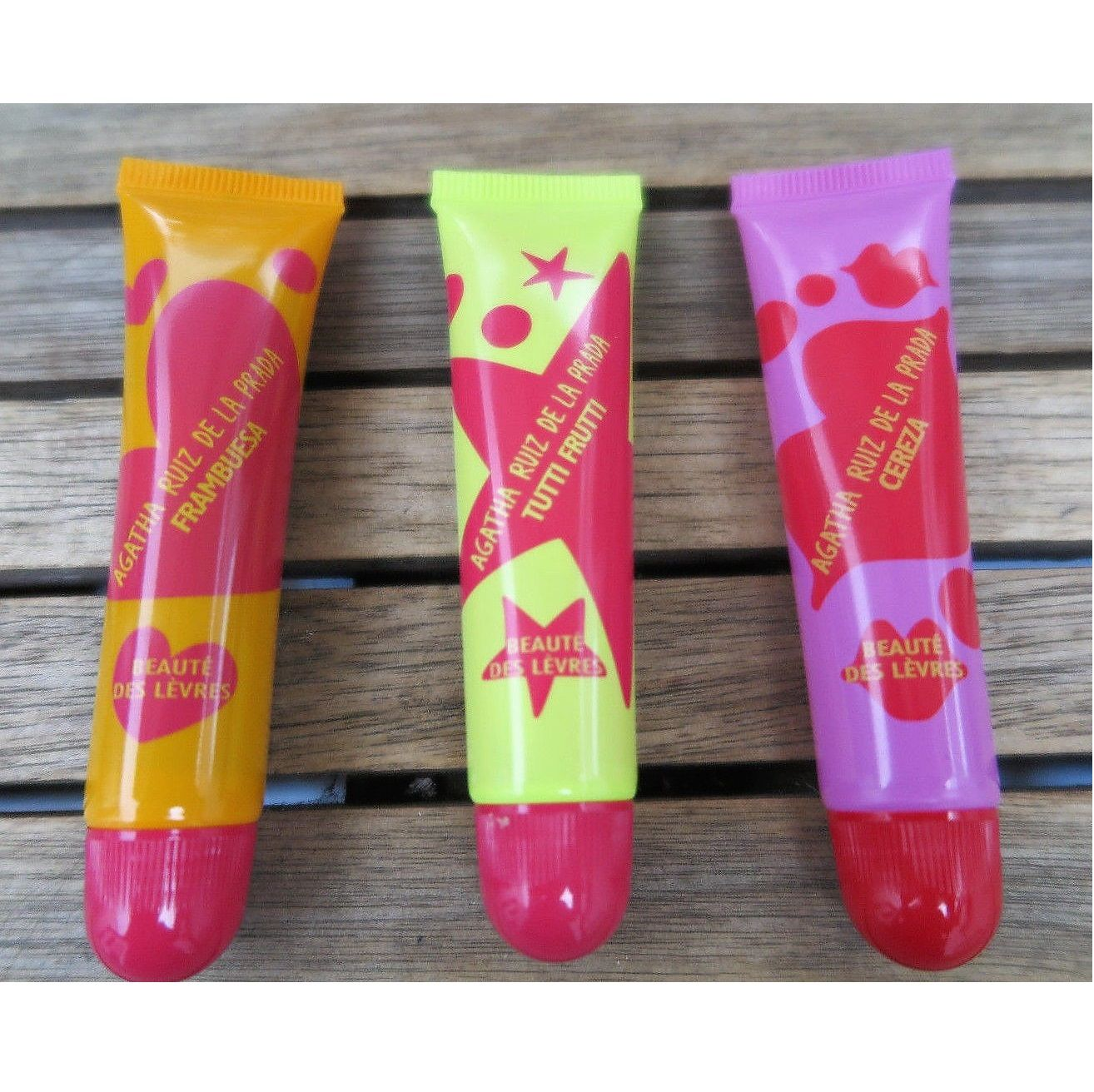 Agatha Ruiz De La Prada Kiss Me Collection 5 Vaselines With
