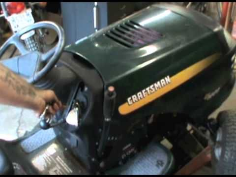 Craftsman Lt1000 The Bane Of My Existence Youtube Lawn Mower Repair Craftsman Lawn Mower Parts Craftsman