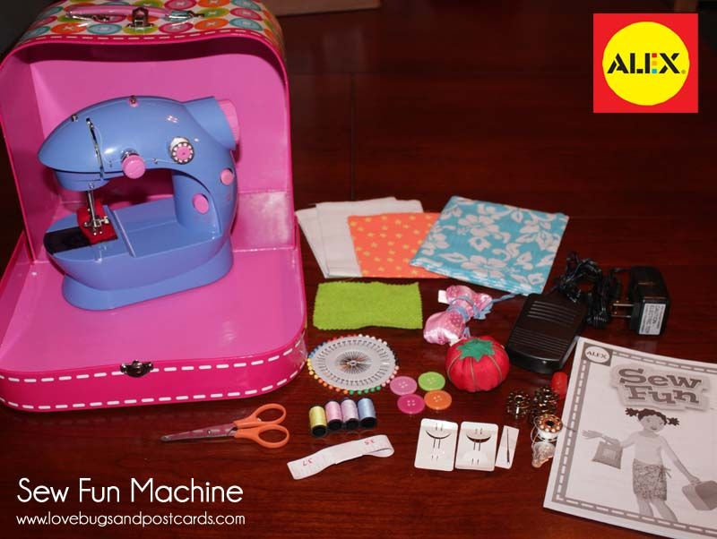 ALEX BRANDS Sew Fun Machine Review Perfect For Christmas Interesting Alex Sew Fun Sewing Machine