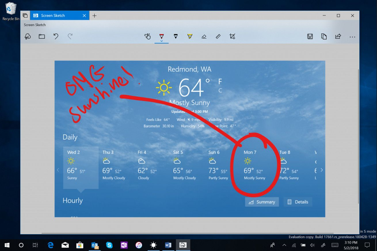 Windows 10 Is Finally Getting An Improved Screenshot Tool