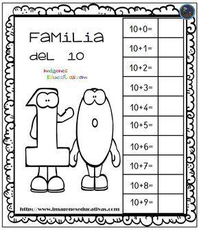 Aprendemos La Familia De Los Numeros Imagenes Educativas