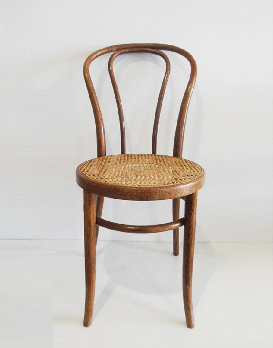 Bistrostuhl aus Bugholz, 1970er   Bistro chairs, Bentwood chairs, Bistro furniture