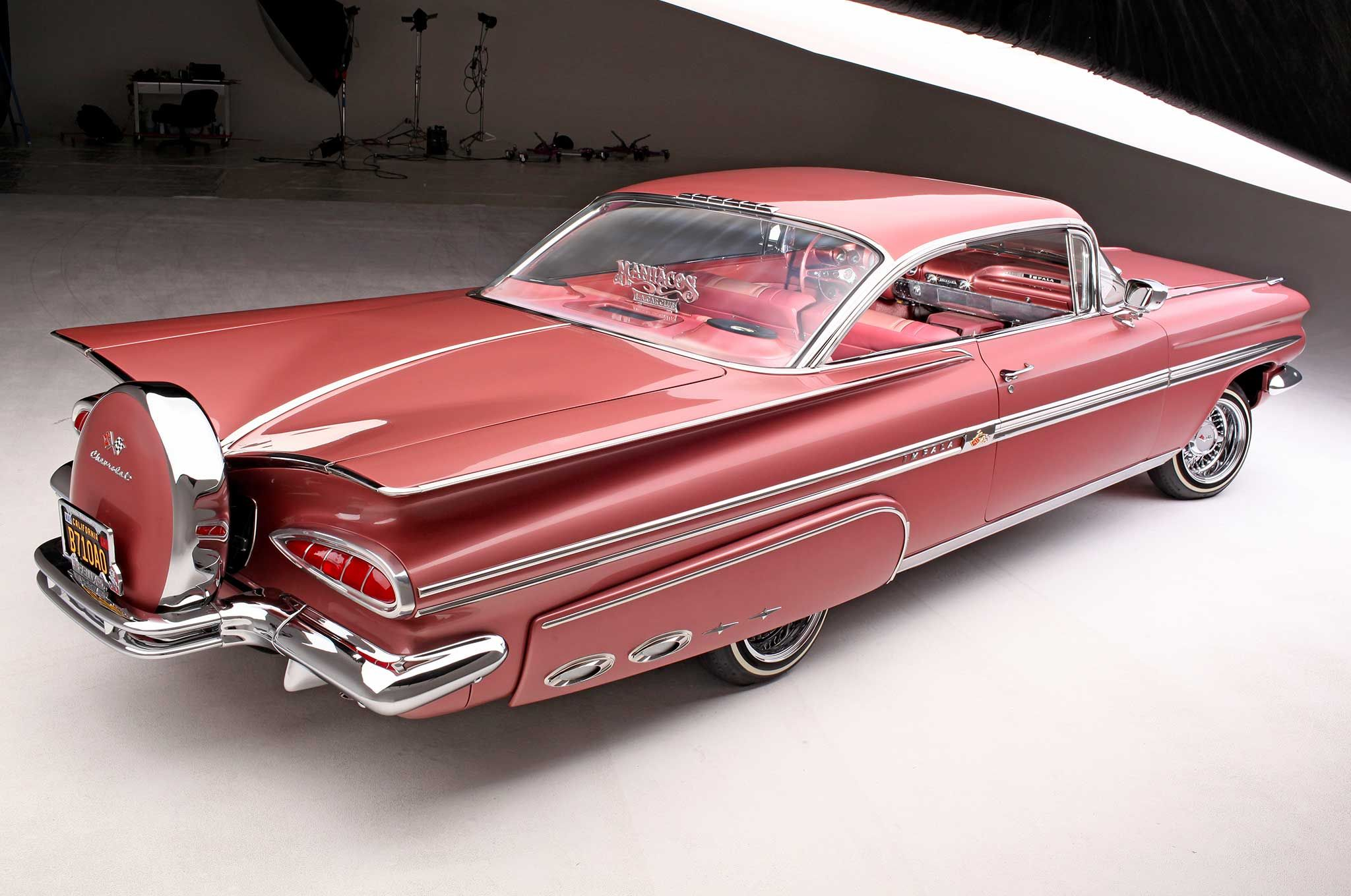 1959 chevrolet impala passenger side rear quarter view 014 [ 2048 x 1360 Pixel ]