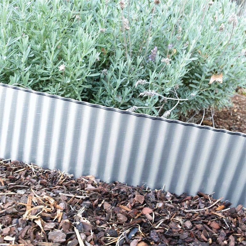 Cyclone 250Mm X 3 2M Corrugated Garden Edging Garden Edging 400 x 300