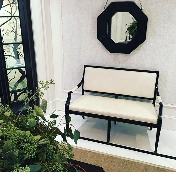 Wonderful Darryl Carter Design For Milling Road Collection For Baker | #settee |  #hpmktfall2016 #