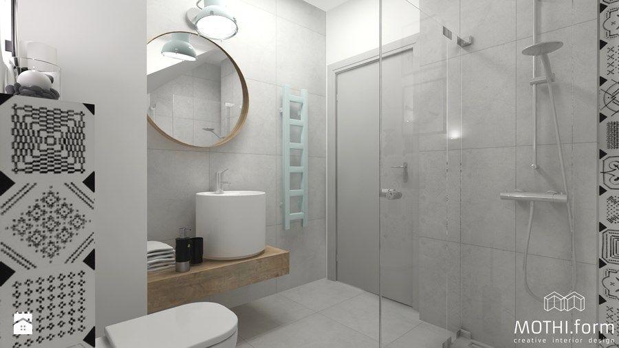 Mała łazienka Na Parterze Domu Pod Krakowem Zdjęcie Od