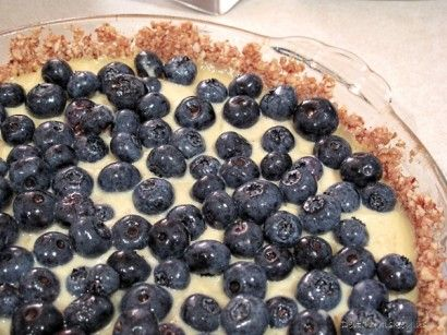 Gluten Free Blueberry Custard Tart | Tasty Kitchen: A Happy Recipe Community!