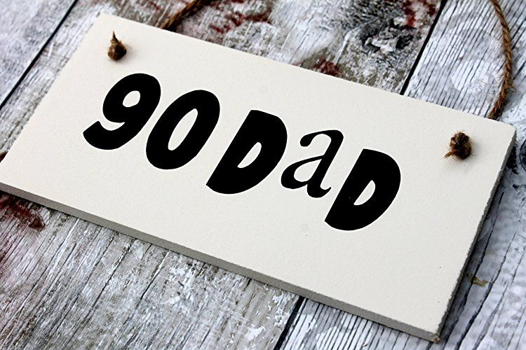 MadeAt94 90th Dad Birthday Gift Sign Gifts For Men