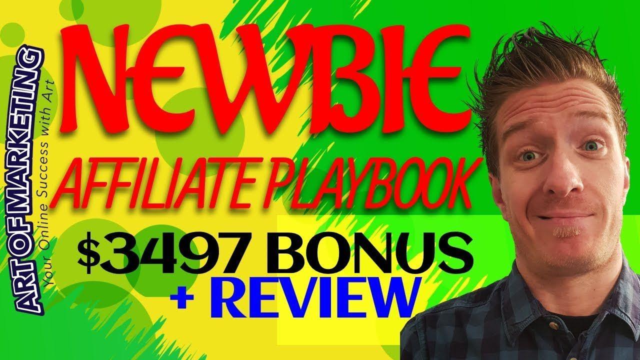 The Newbie Affiliate Playbook Review 😇Demo😇3497 Bonus