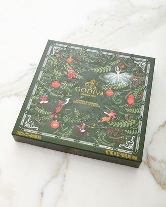 Godiva Advent Calendar.Advent Calendar With Chocolates Christmas Chocolate Advent