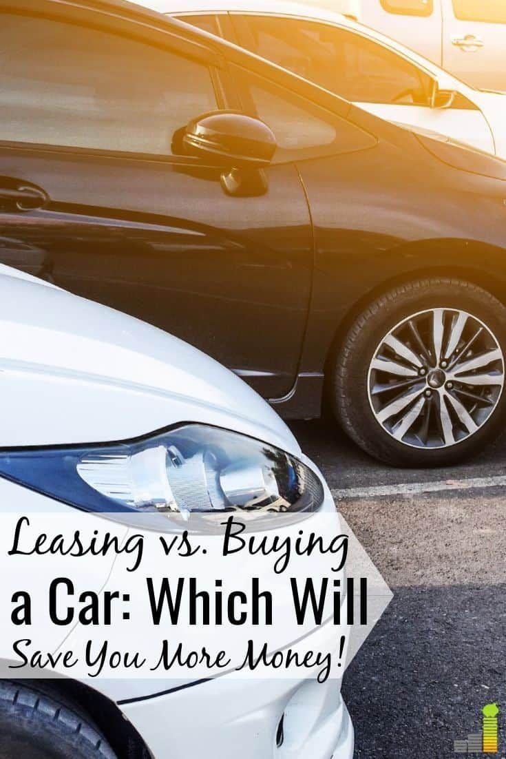 car leasing vs buying cash