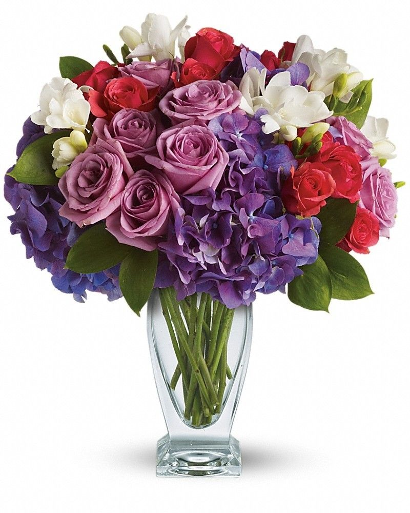 Rhapsody in Purple Flower arrangements, Flower delivery