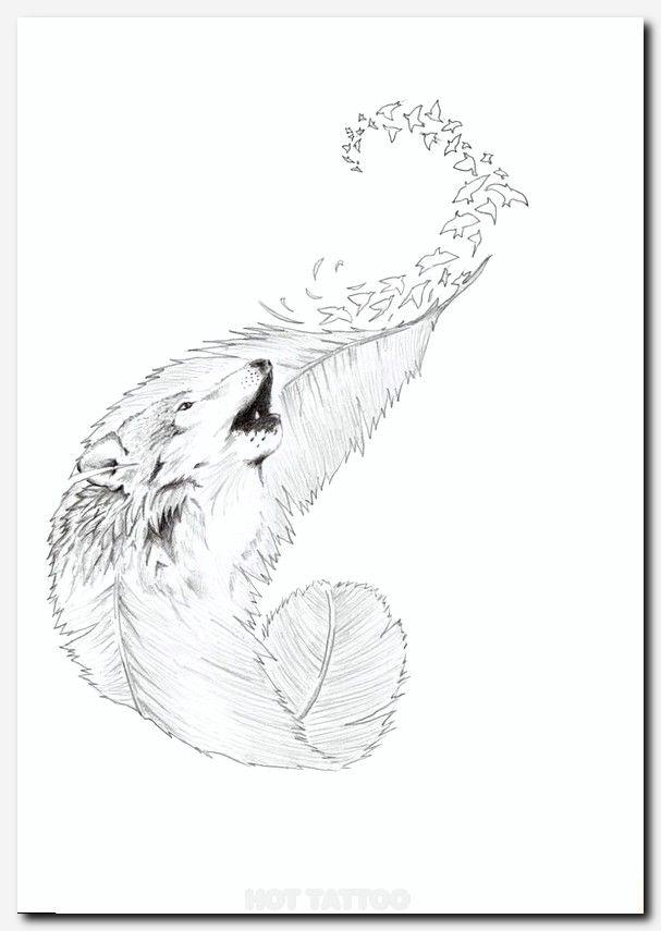 Phoenix Feather Tattoo Inspiration Hot Tattoo Wolf Tattoos For Women Wolf Tattoos Wolf Tattoo