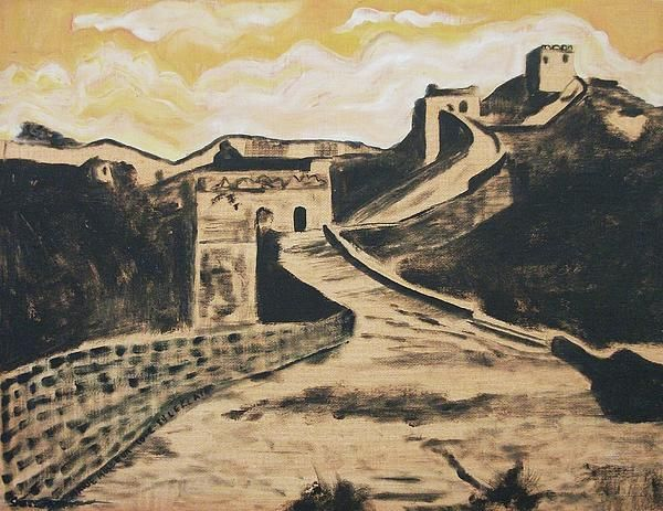 Great Wall Of China By Suzanne Marie Leclair Great Wall Of China