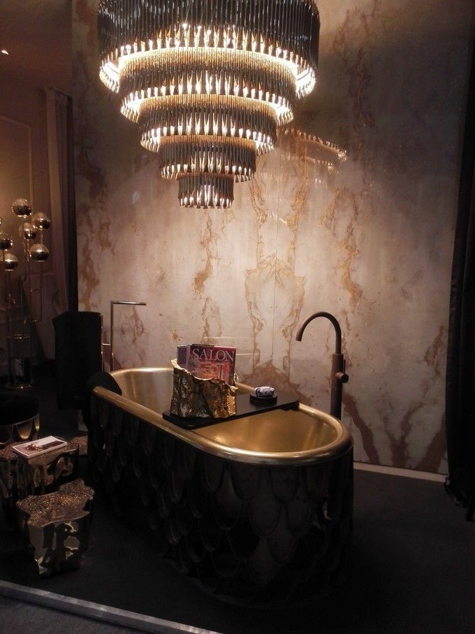 The Perfect Crystal Chandelier for Your Luxury Bathroom ...
