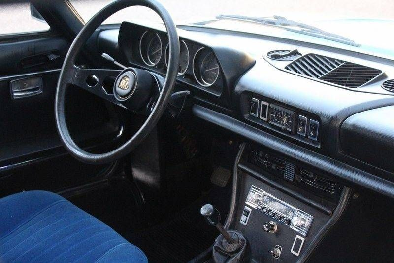 1972 Peugeot 504 Coupe 1 8l Injection I4 1 796 Cm 100 Ps