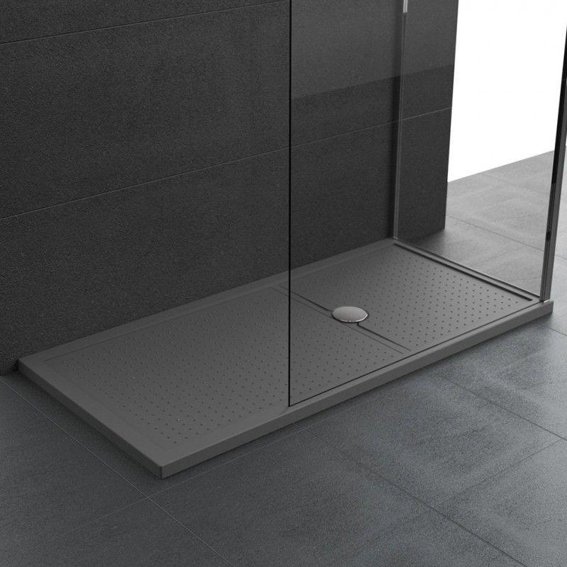 Novellini Olympic Plus Shower Tray 1200mm x 800mm , black finish ...