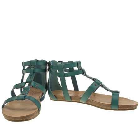 02d3b0ea6 womens blowfish turquoise gotten sandals