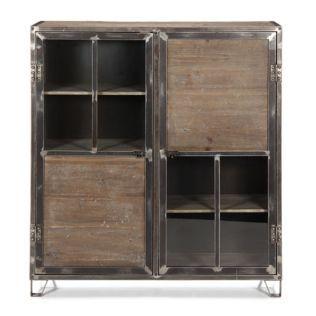 meuble metal industriel alinea