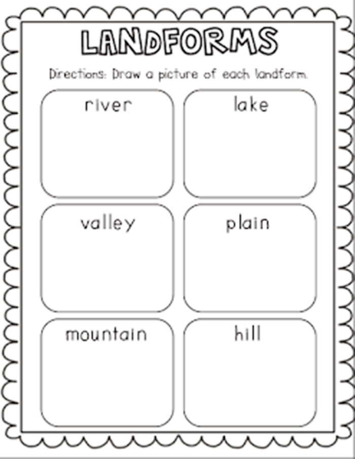 21 Landforms for Kids Activities and Lesson Plans | Science ...