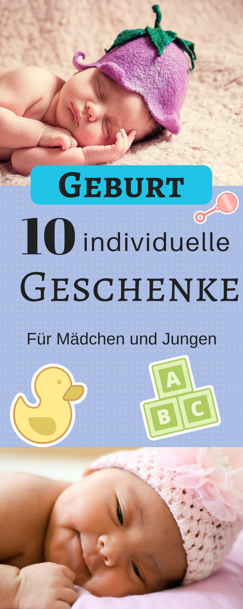10 originelle Geschenke zur Geburt für Mädchen & Jungs | THEMEN MIT ...