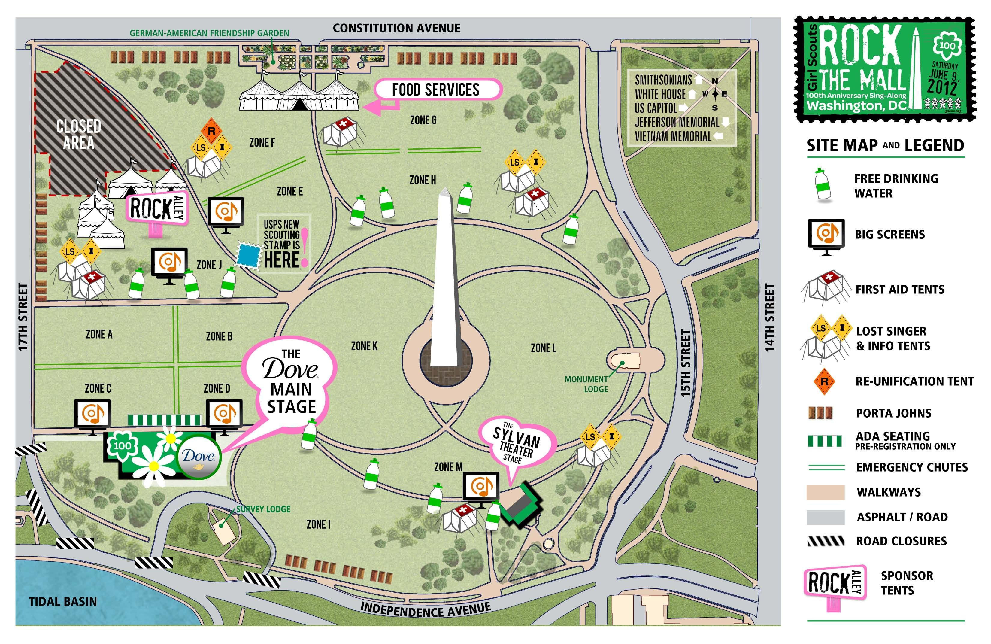 Rock The Mall Resources Including Identification Cards